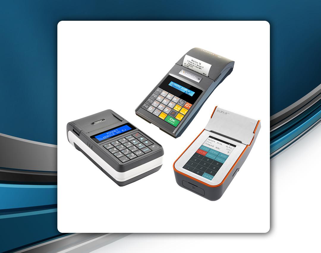 Kasy fiskalne Posnet Mobile HS EJ, Novitus Nano E i Elzab K10