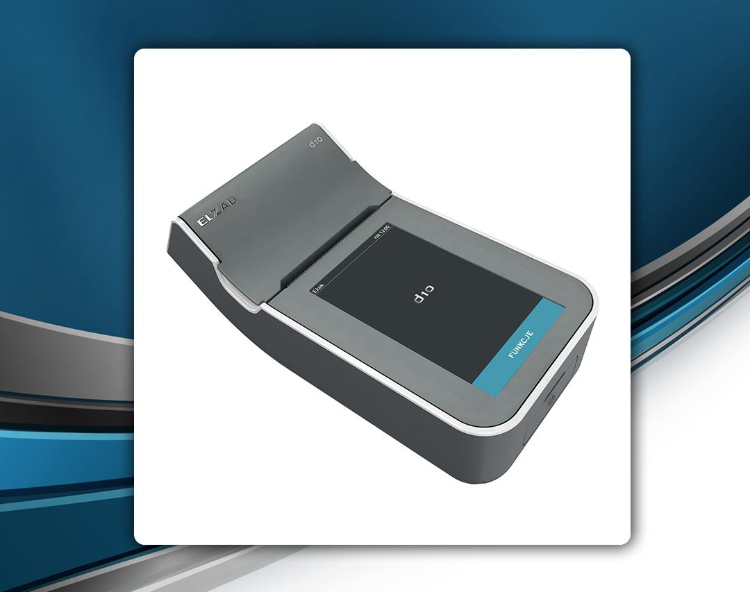 Elzab D10 - drukarka fiskalna z ekranem dotykowym