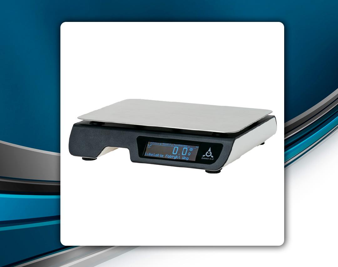 WS-1 - waga elektroniczna firmy FAWAG